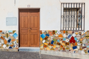 Door in Sorbas Spain