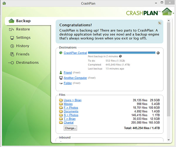 Crasphlan Application Interface